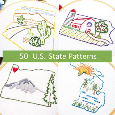 50 US State Patterns