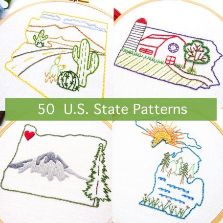 50 US State Patterns