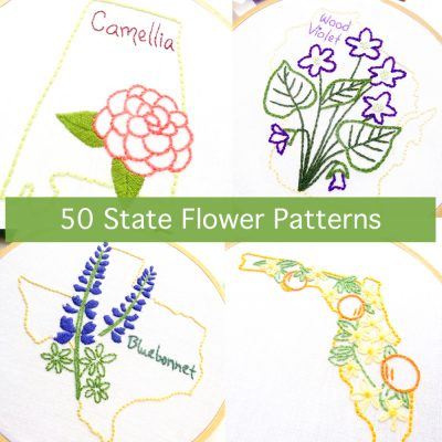 50 State Flower Patterns