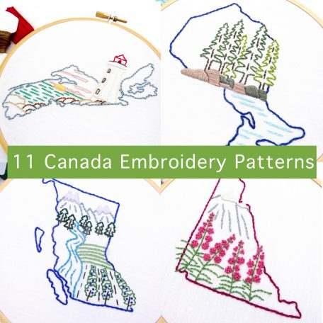 Canada Embroidery Patterns