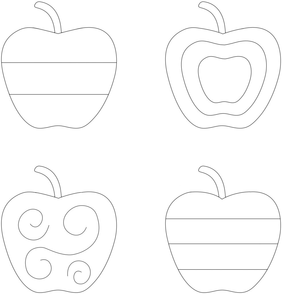 Apple Sampler Embroidery Pattern