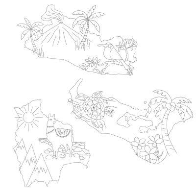 Protected: Bolivia, El Salvador, Tonga Hand Embroidery Patterns
