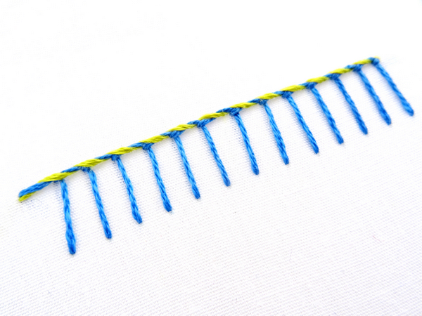 Whipped Blanket Stitch