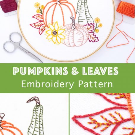 pumpkins-leaves-hand-embroidery-pattern
