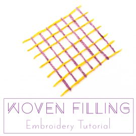 Woven Filling Stitch Tutorial