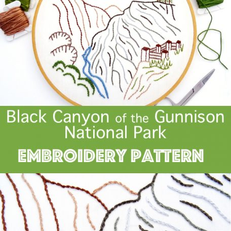 black-canyon-national-park-hand-embroidery-pattern