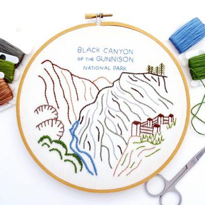 Colorado National Parks Hand Embroidery ebooks