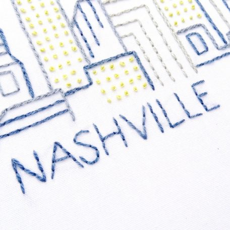 nashville-city-skyline-hand-embroidery-pattern
