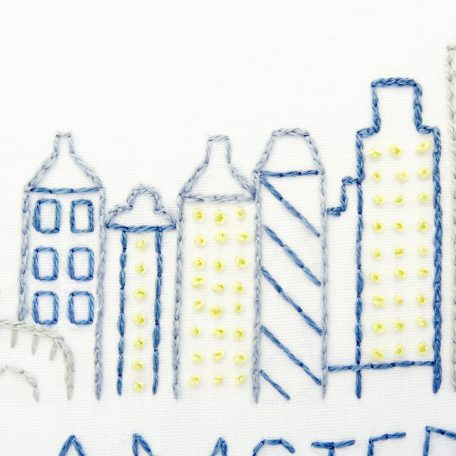 amsterdam-city-skyline-hand-embroidery-pattern